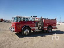 1987 FORD C8000 S/A Fire Truck