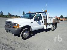1999 FORD F550 Flatbed Trucks