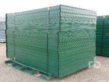 Qty Of HD Construction Fencing