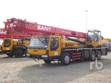 2011 SANY QY25C 25 Ton 6x4 Hydr