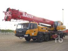 2012 SANY STC750 75 Ton 8x4x4 H