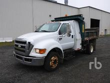 2008 FORD F650 Dump Truck (S/A)