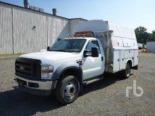2008 FORD F550 Utility Trucks