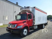 2010 HINO 338 S/A Reefer Truck