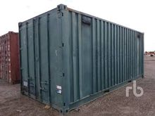 x 20 Ft Storage Container Equip