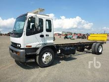2009 GMC T7500 S/A Cab & Chassi