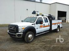 2011 FORD F550 Crew Cab Service