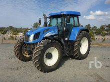 2003 NEW HOLLAND T7550 MFWD Tra