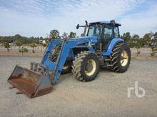 2002 NEW HOLLAND 8670A MFWD Tra