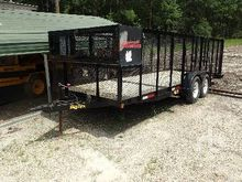 2004 BIG TEX 70LR 20 Ft x 7 Ft