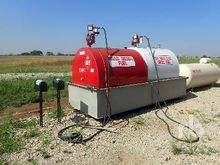 Qty of 2500 Gallon Skid Mounted
