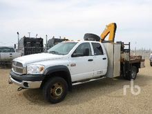 2008 DODGE 5500HD Crew Cab 4x4