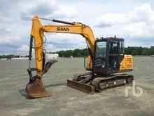 2015 SANY SY75C Midi Excavator