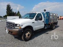 2003 FORD F450 S/A Flatbed Truc