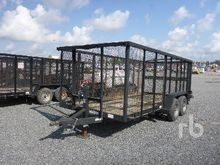 2011 TEXAS PRIDE 16 Ft T/A Tras