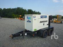 2012 DOOSAN G70WJD 58 KW Portab
