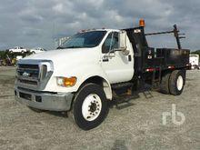 2007 FORD F750 XL Reel Truck