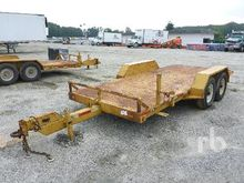 1989 DITCH WITCH T14A Tilt Deck