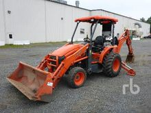 2013 KUBOTA L45 Loader Backhoes