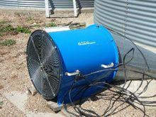 GRAIN GUARD 5 HP air over fan G