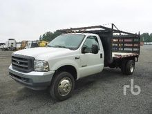 2004 FORD F450 Flatbed Trucks