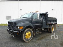 2003 FORD F650 Dump Truck (S/A)