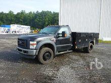 2008 FORD F450 Utility Trucks