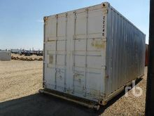 20 Ft Skid Mtd Shipping Contain