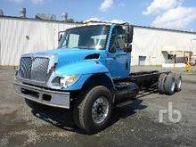 2006 INTERNATIONAL 7500 T/A Cab