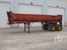 1985 RELIANCE T/A End Trailer