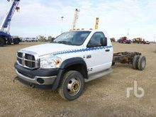 2008 DODGE 5500HD SLT 4x4 Cab &