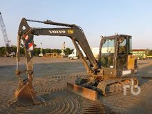 2012 VOLVO EC55C Midi Excavator