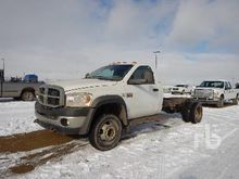 2008 DODGE 4500HD SLT 4x4 Cab &