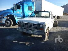 1984 FORD F350 Cab & Chassis