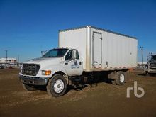 2000 FORD F750 S/A Steam Truck