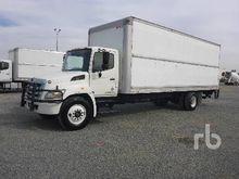 2011 HINO 268 S/A Van Truck