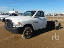 2013 DODGE 3500HD 4x4 Cab & Cha