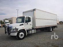 2012 HINO 268 S/A Van Truck