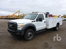 2011 FORD F550 XL 4x4 Mechanics