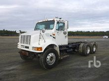 2001 INTERNATIONAL 8100 T/A Cab