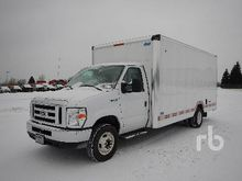 2016 FORD E450 Cube Van Truck