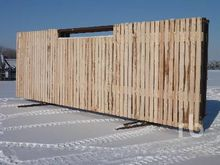 W D FAB 24 Ft Panel Wind Fence