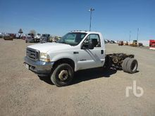 2002 FORD F450 Cab & Chassis