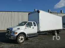 2012 FORD F650 Extended Cab Van