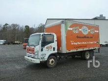 2012 ISUZU NPR COE Van Truck
