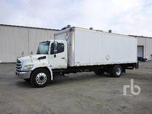 2012 HINO 338 S/A Van Truck