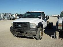 2007 FORD F550 Cab & Chassis