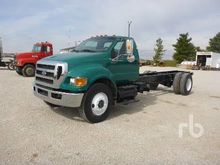 2008 FORD F750 Cab & Chassis