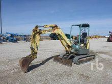 YANMAR VIO35 Mini Excavator (1