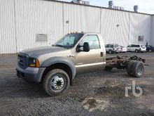 2005 FORD F550 Cab & Chassis